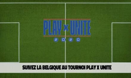 La Belgique participe au tournoi FIFA eFootball Play x Unite 2020
